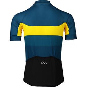 POC Essential Road Logo Jersey Men sulphite multi yellow